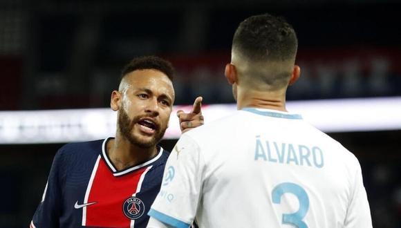 El conflicto de Neymar con Álvaro le podría costar caro al brasileño. (Foto: AFP)