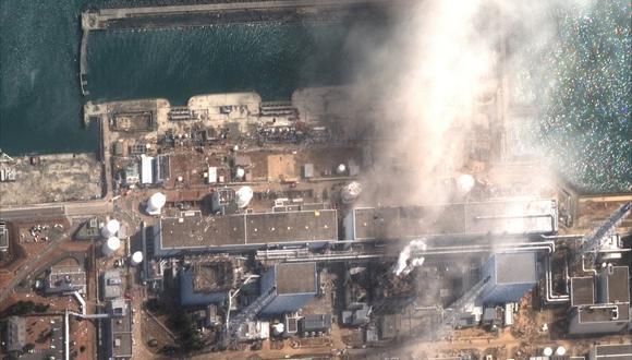 Una imagen satelital de la planta de energía nuclear de Fukushima Daiichi, luego de una explosión, tomada el 14 de marzo de 2011. (Foto: Reuters)