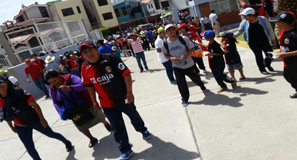 Melgar vs. Sporting Cristal: así se vivió la previa en Arequipa - 1