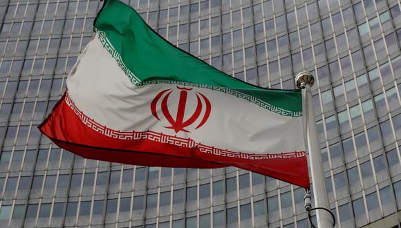 La bandera de Irán. REUTERS