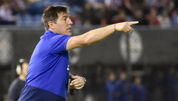 Eduardo Berizzo, entrenador de la selección Paraguaya. (Foto: Reuters)