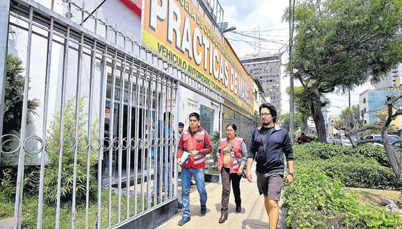 El centro médico El Corregidor, denunciado por no evaluar a los postulantes, también fue depurado. (Jessica Vicente / El Comercio)