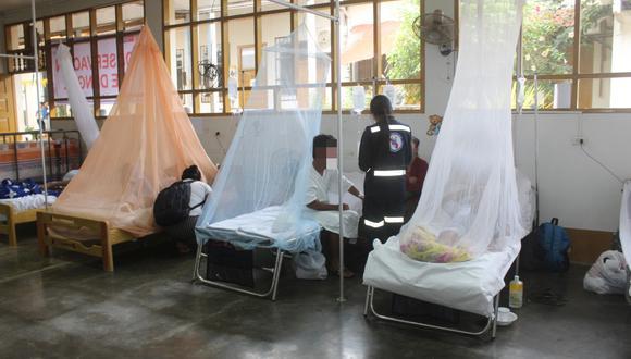La declaratoria de emergencia es por brote epidémico de dengue. (Foto: GEC)