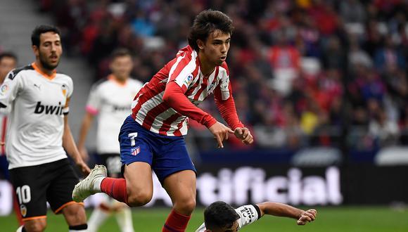 Joao Felix llegó al Atlético de Madrid procedente del Benfica de su país. (Foto: AFP)