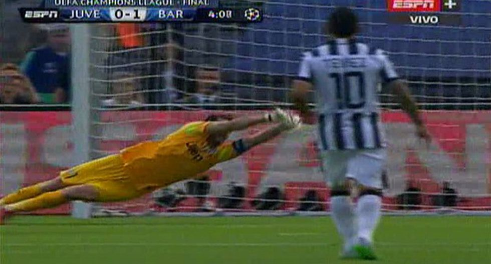 Barcelona: Ivan Rakitic anotó el primero ante Juventus (VIDEO)
