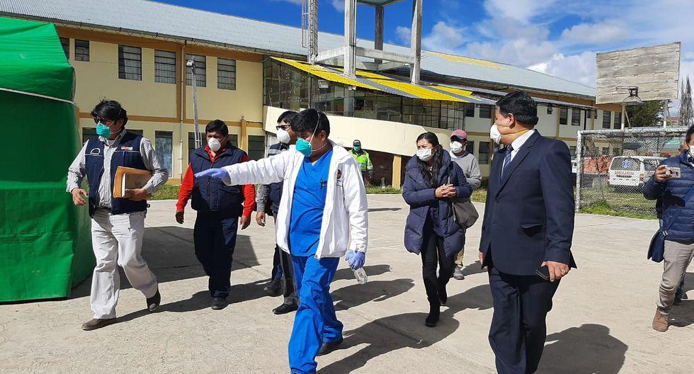 Coronavirus en Perú: Refuerzan vigilancia en la frontera con Bolivia en Puno. (Foto: Cortesía / Diresa Puno)