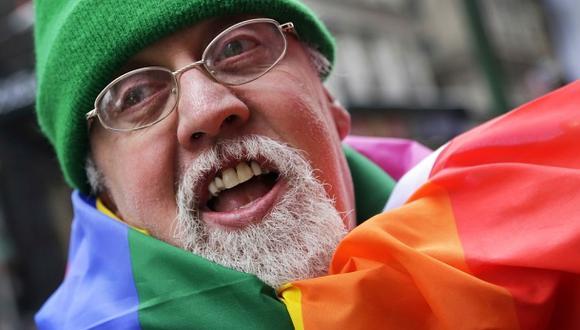 Gilbert Baker sabía que la bandera podía convertirse en un símbolo de la comunidad gay. (Foto: AP)