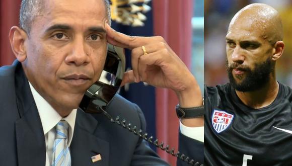 ¿Qué le dijo Obama a Tim Howard en esta llamada telefónica?