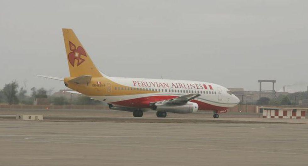 Peruvian Airlines suspendió sus vuelos anoche. (Foto: GEC)
