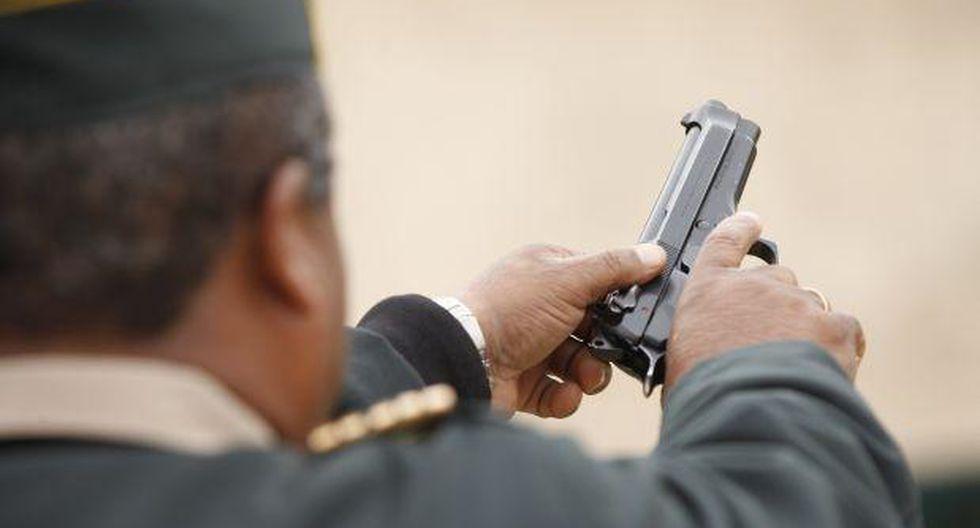 Policías: solo en estos casos podrán usar sus armas de fuego