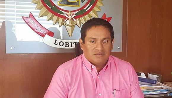 Para la Fiscalía Especializada en Delitos de Corrupción de Funcionarios, Christian Reque incurrió en el delito de omisión de funciones. (Foto: Municipalidad de Lobitos)