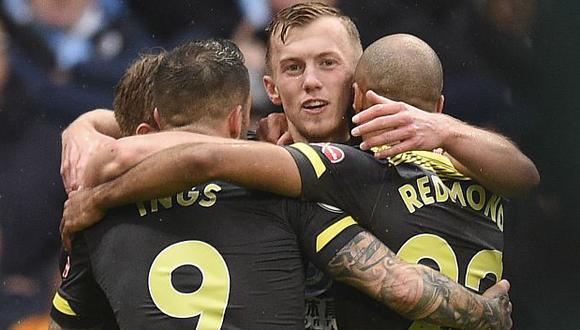 Southampton marcha en el puesto 14 de la presente temporada de la Premier League. (Foto: AFP)