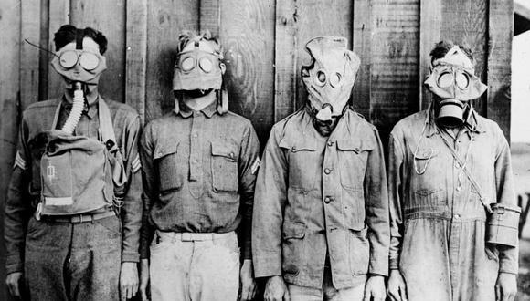 La irrupción de las armas químicas en la Primera Guerra Mundial. (Reuters).