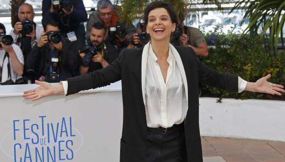 Juliette Binoche cierra con broche de oro competencia en Cannes