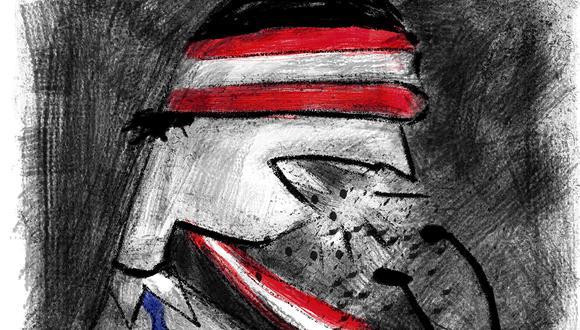 """""""Por promover discursos xenófobos ningún candidato está prestándole atención a problemas de fondo"""". (Ilustración: Giovanni Tazza)"""
