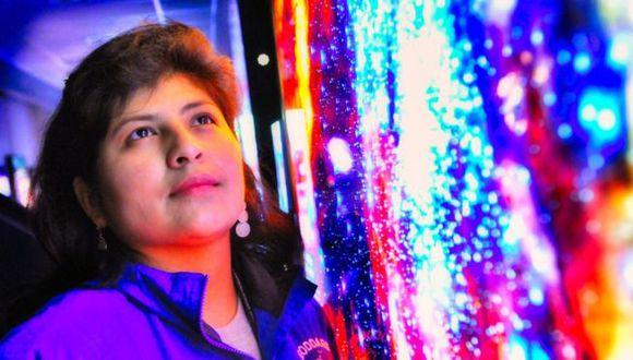 Aracely Quispe supo desde muy niña que quería trabajar en la NASA. (Foto: Aracely Quispe)