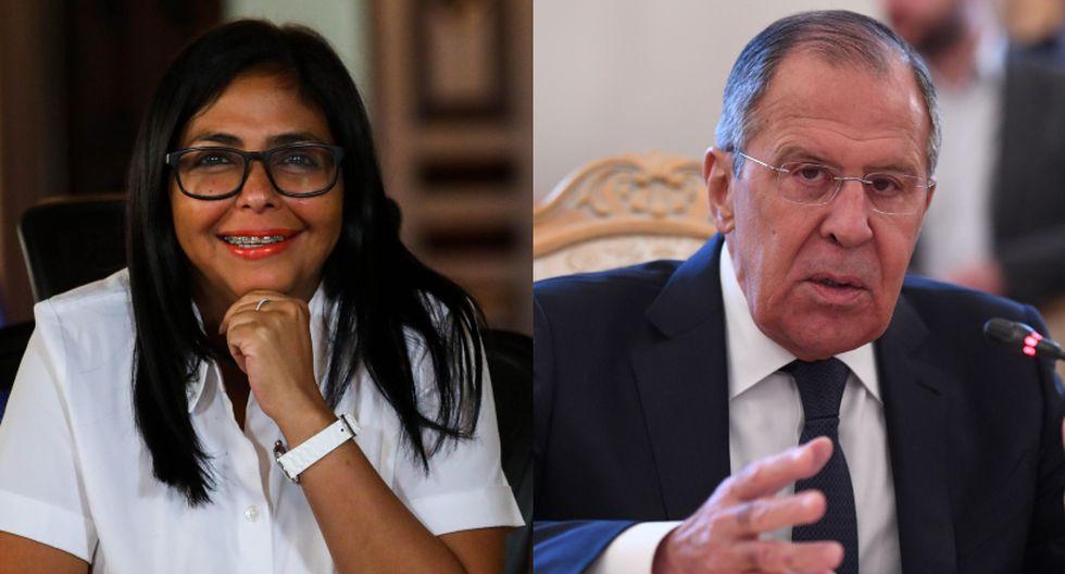 """El canciller ruso Lavrov, que se encuentra de viaje en China, denunció los """"descarados"""" intentos de crear """"pretextos artificiales"""" para una intervención militar en Venezuela. (Foto: AFP - EFE)"""