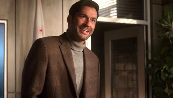 """En la temporada 5 de """"Lucifer"""", el gemelo de Lucifer, Michael tiene algo misteriosamente mal con su brazo derecho (Foto: Netflix)"""