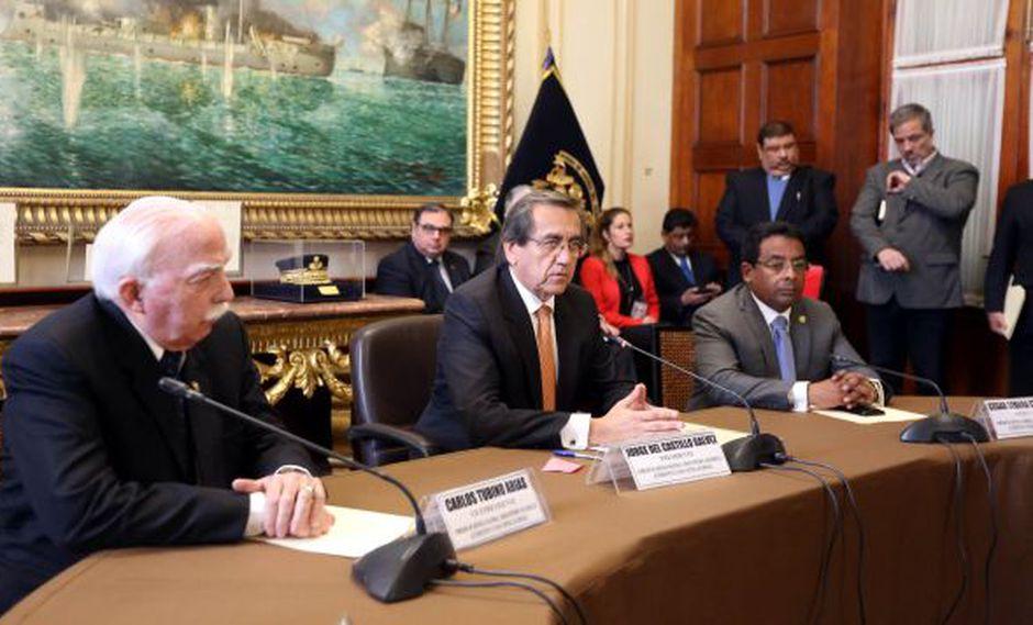 Jorge del Castillo, congresista del Apra, preside la Comisión de Defensa del Congreso. (Foto: Congreso)