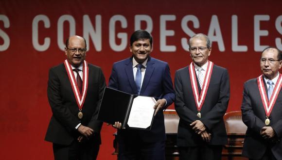 Felipe Castillo Oliva, de Podemos Perú, fue el tercer caso confirmado de coronavirus en el Congreso. (Foto: GEC)