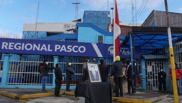Pasco: declaran duelo regional por muerte de exgobernador Teódulo Quispe (Foto difusión).