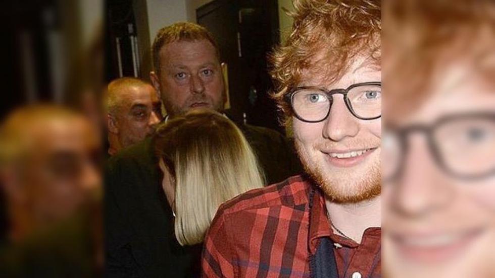 Kevin Myers, el guardaespaldas de Ed Sheeran, se ha vuelto muy popular en las redes sociales. (Instagram @securitykev)