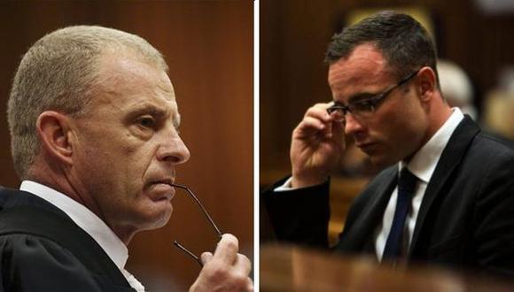 """Fiscal a Pistorius: """"te rehúsas a asumir la responsabilidad"""""""