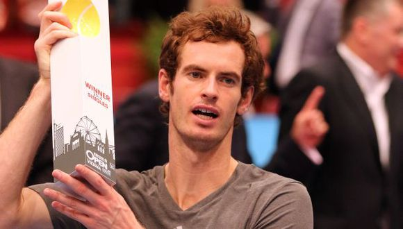 Andy Murray se coronó en Viena y se acerca a Masters de Londres