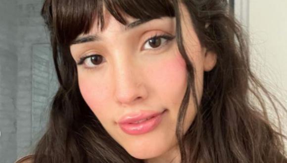 La actriz comenzó su transición cuando aún estaba en la escuela (Foto: Zión Moreno / Instagram)