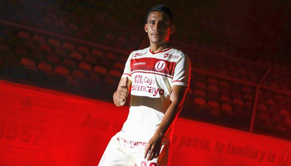 Álex Valera firmó por Universitario luego de que Alianza Lima descendiera a Liga 2 (Foto: prensa 'U')