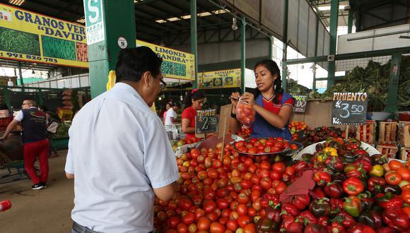 los principales mercados mayoristas de Lima están plenamente abastecidos de productos de primera necesidad. (Foto: GEC)