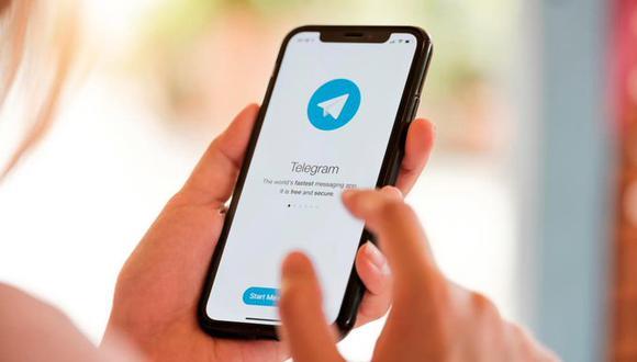 Telegram ofrece utilitarios para uso personal y colectivo. Entre ellos está el apartado «mensajes guardados», donde se pueden almacenar conversaciones, apuntes personales y recordatorios. (Foto: Diario Libre)