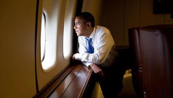 Barack Obama sobrevolando Cuba luego de su histórica visita. (Foto: Getty Images)
