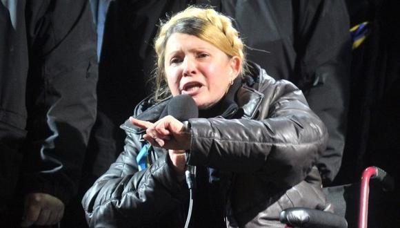 Timoshenko en Berlín: médicos deciden el lunes si la operan