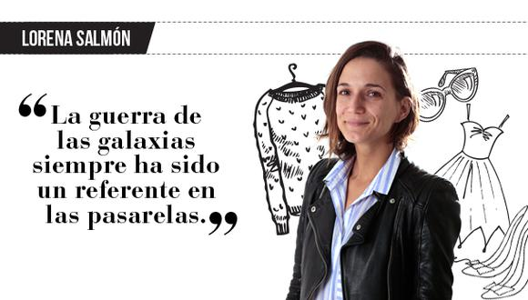"Lorena Salmón: ""Galas interestelares"""