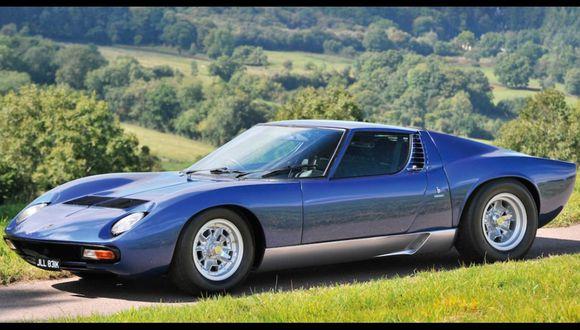Lamborghini Miura de Rod Stewart se vende por US$ 1,89 millones