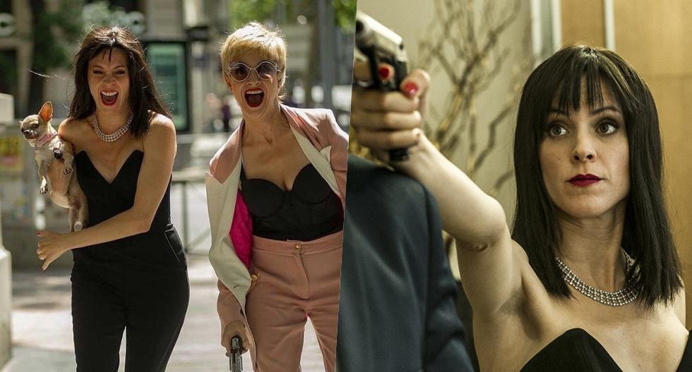 """Macarena (Maggie Civantos) y Zulema (Najwa Nimri) en el episodio final de la cuarta temporada de """"Vis a vis""""."""