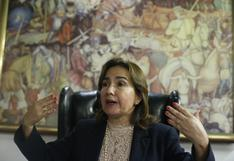 Elvia Barrios, la primera jueza en la historia peruana en presidir el Poder Judicial | PERFIL