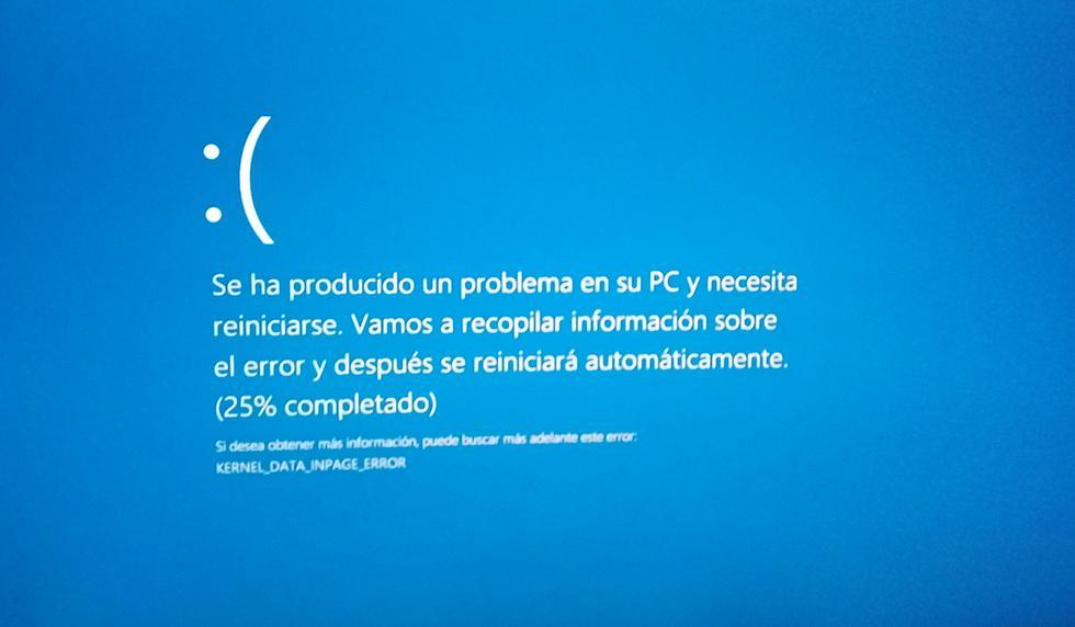 ¿Has actualizado Windows 10 y te apareció la 'pantalla azul de la muerte'? Conoce cómo solucionarlo de inmediato. (Foto: Microsoft)