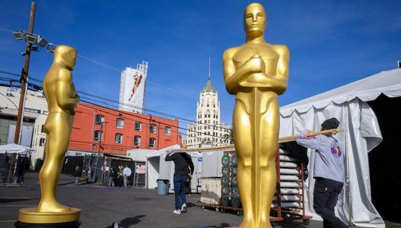 Los Oscar de 2021 serán un evento físico, asegura un portavoz a Variety. (Foto: AFP)
