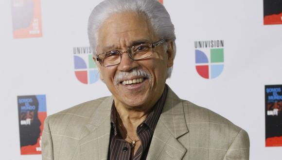 La leyenda de la salsa Johnny Pacheco falleció el 15 de febrero del 2021. (Foto: AP/Wilfredo Lee)