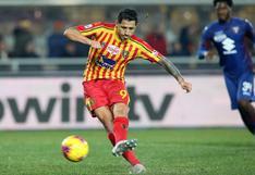 El agente de Gianluca Lapadula evitó referirse al tema de la selección peruana