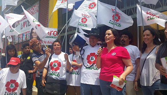 Marisa Glave encabezará lista al Congreso del FA, dijo Mendoza
