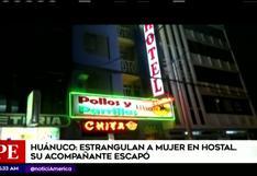 #EstamosHartas | Huánuco: mujer fue hallada muerta dentro de un hostal | VIDEO
