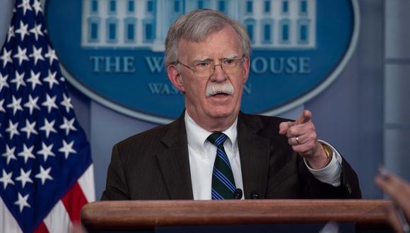 John Bolton (Foto: AFP)