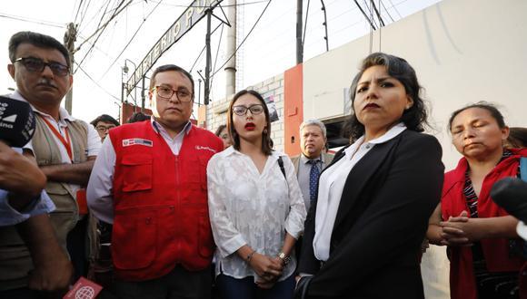 La primera Sala Penal de Apelaciones de la CSJLN confirmó la sentencia de 11 años de cárcel para Adriano Pozo por el delito de tentativa de feminicidio en agravio de Arlette Contreras. (Foto: Piko Tamashiro/GEC)