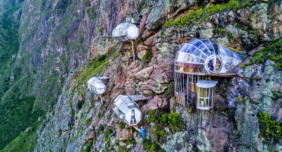 Las cápsulas del Skylodge Adventure Suites miden miden 7,5 metros de largo por 2,60 metros de alto y ancho. (Foto: Natura Vive)