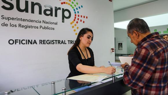 Huancavelica fue la región que presentó un mayor incremento, según Sunarp. (Foto: Sunarp)