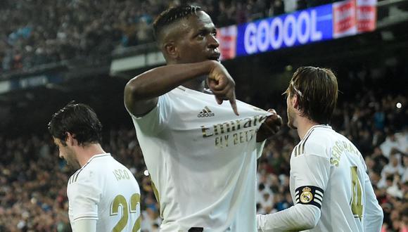 Real Madrid es líder de LaLiga Santander con 56 puntos. (AFP)
