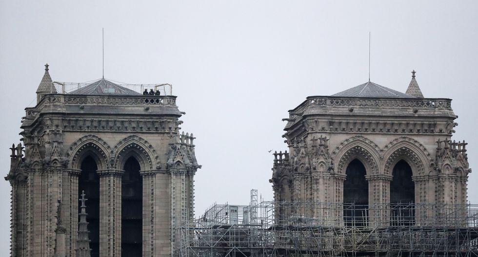 Un incendio destruyó gran parte de la catedral de Notre Dame el lunes. (Foto: EFE)
